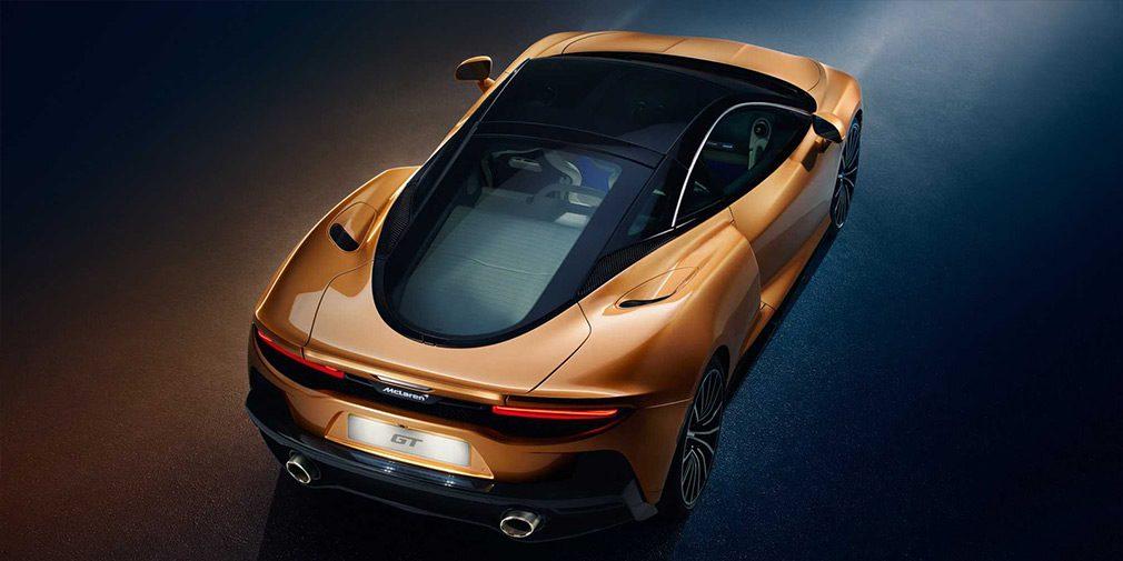 McLaren представил новый практичный суперкар GT
