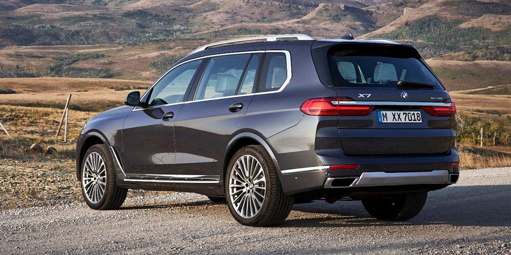 BMW представила новые версии кроссоверов BMW X5 и X7