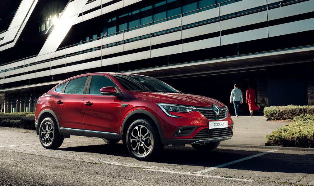 Купе-кроссовер Renault Arkana отправили в серийное производство