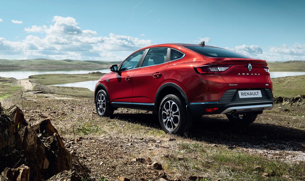 Renault Arkana стал одним из бестселлеров в РФ в июне