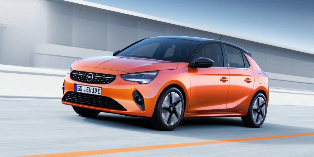 Новый хэтчбек Opel Corsa получил электромотор