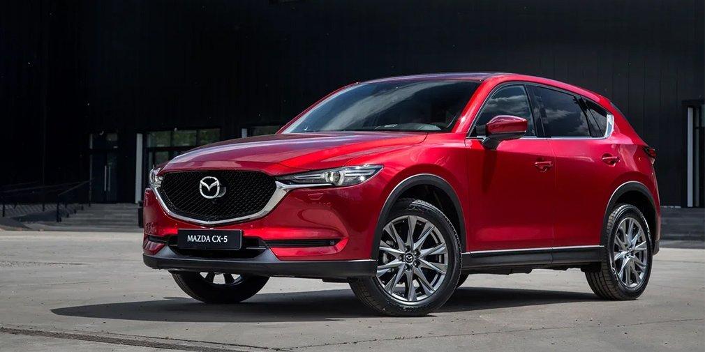 Mazda в России отправит на ремонт кроссоверы Mazda CX-5