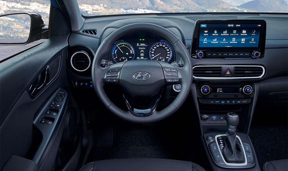 Бюджетный кроссовер Hyundai Kona стал гибридным