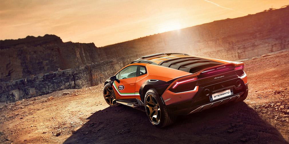 Новый Lamborghini Huracan Sterrato выйдет в 2021 году