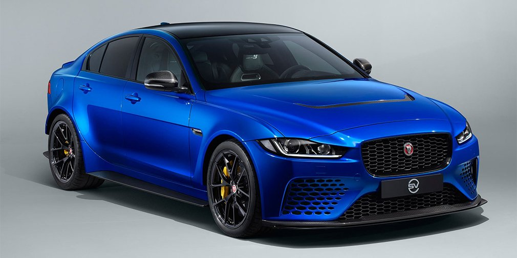 Jaguar выпустил мощный седан XE SV Project 8 Touring