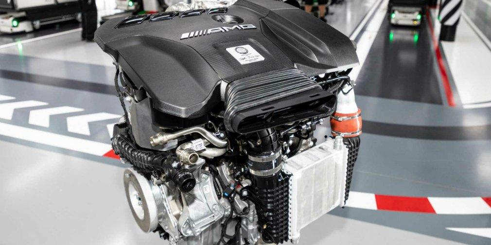 Mercedes-AMG представил самую мощную в мире «турбочетверку»