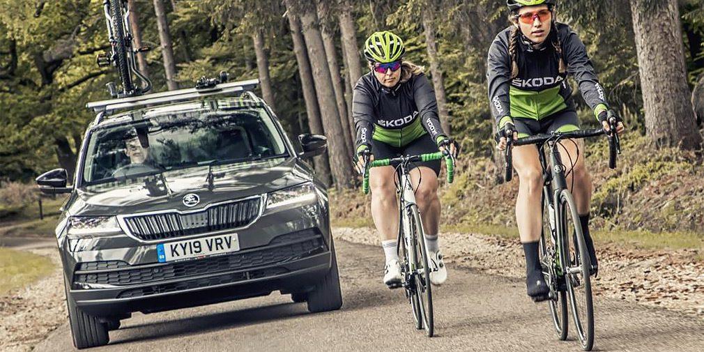 Skoda выпустила кроссовер Karoq Velo для велосипедистов