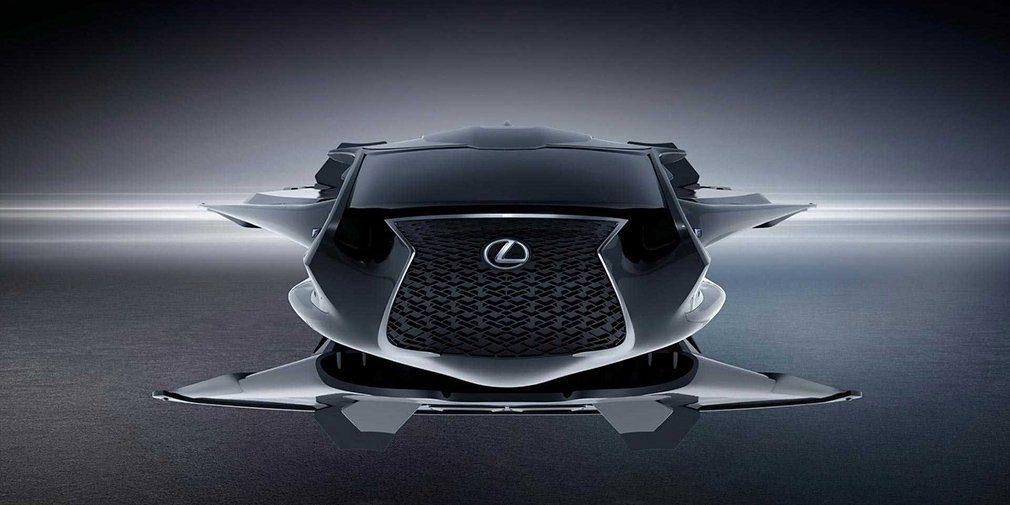 Lexus создал летающий автомобиль для новых «Людей в черном»