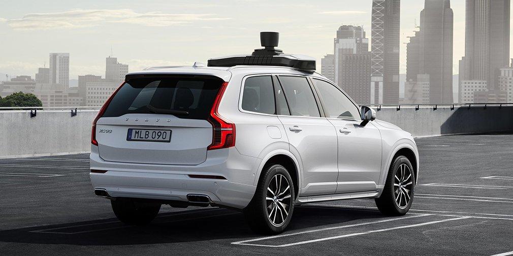 Volvo и Uber показали серийный беспилотный кроссовер