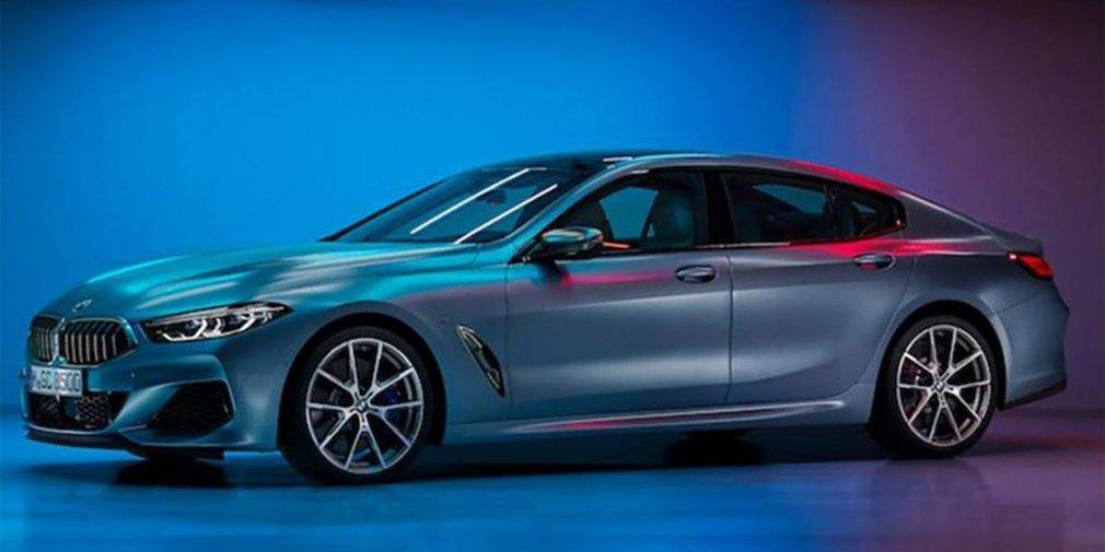 Опубликованы первые фото BMW 8-Series Gran Coupe