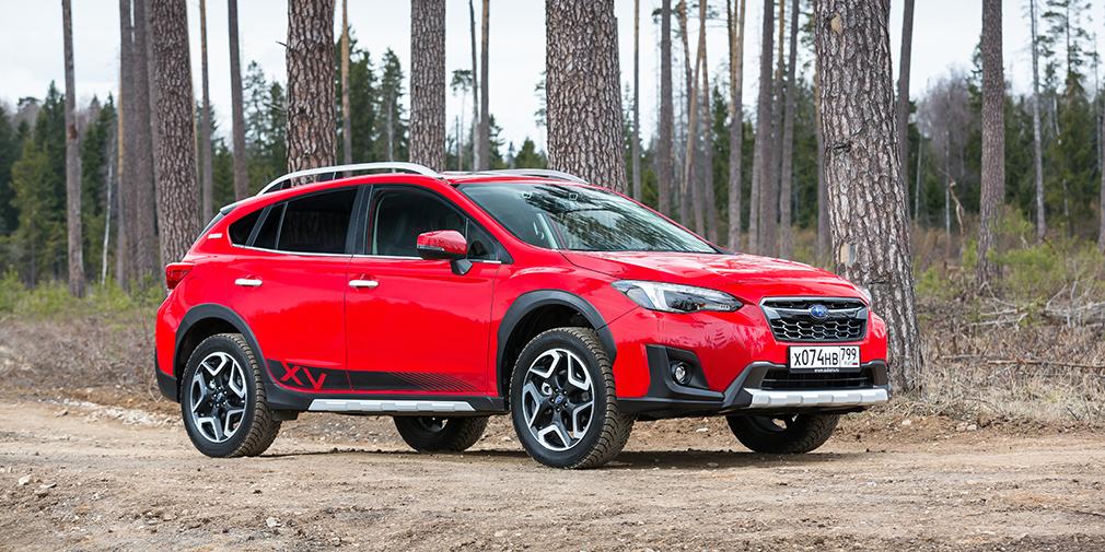 Subaru анонсировала в России кроссовер Subaru XV Tokyo
