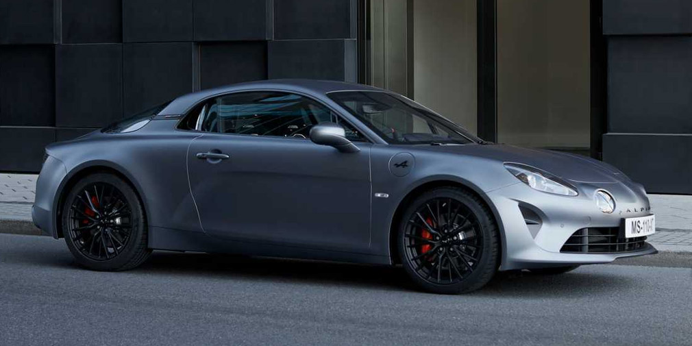 Представили новое мощное купе Alpine A110S
