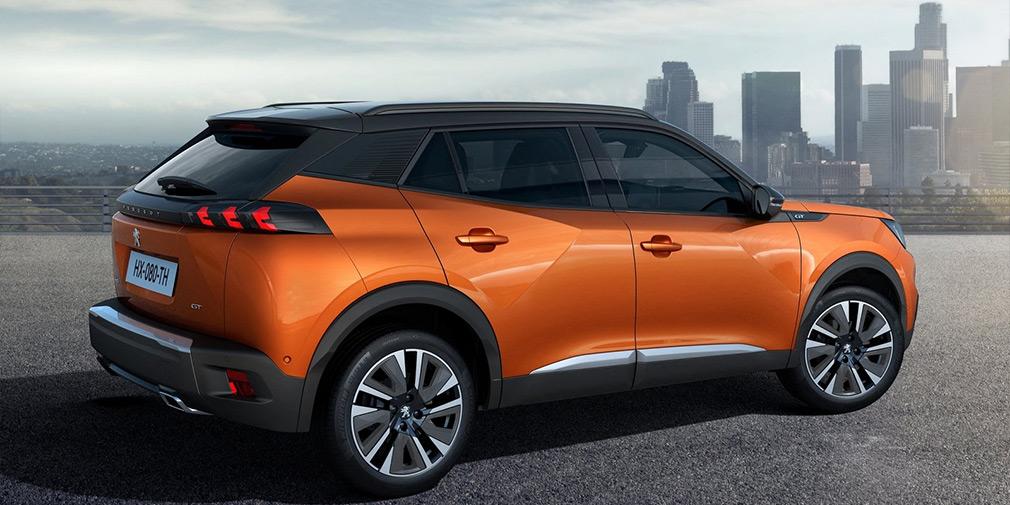 Названа дата старта продаж кроссовера Peugeot 2008 новой генерации