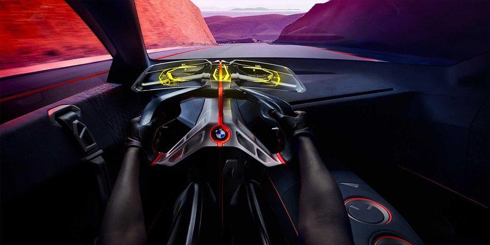 BMW рассекретила концептуальный суперкар Vision M Next