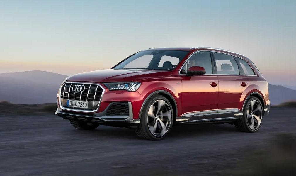 Обновленный Audi Q7 появился в РФ с одним двигателем