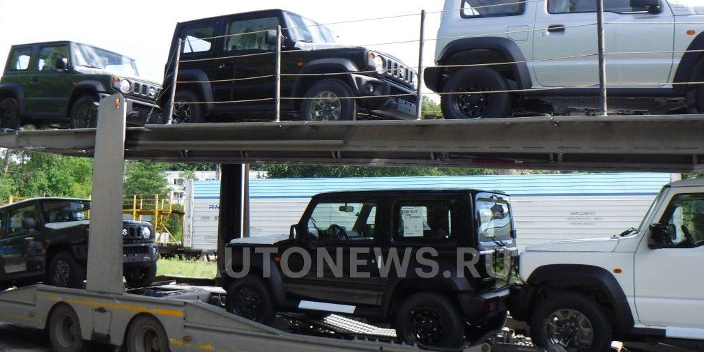 Первая партия нового Suzuki Jimny приехала в Россию