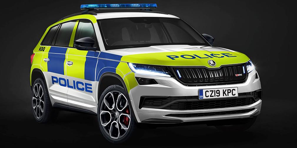Skoda на базе Kodiaq RS выпустила машину для полиции