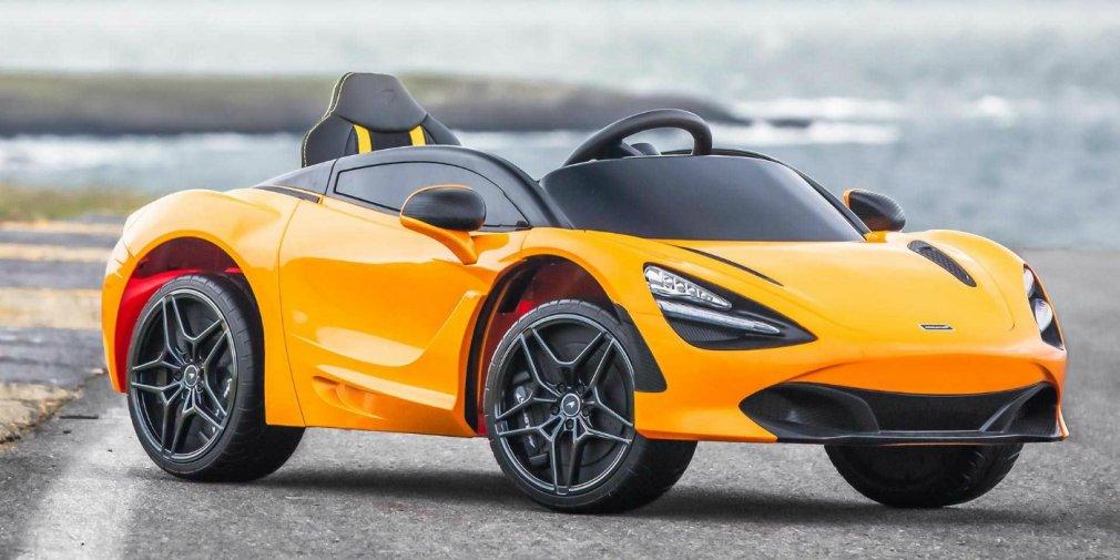 McLaren представил электрическую версию гиперкара 720S для детей