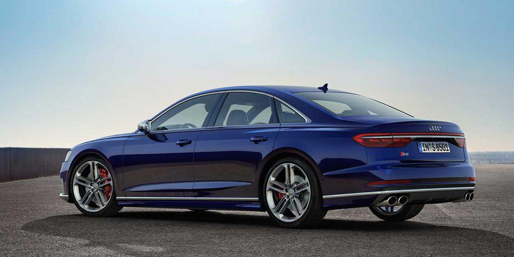 Новый Audi S8 появится в России в 2020 году
