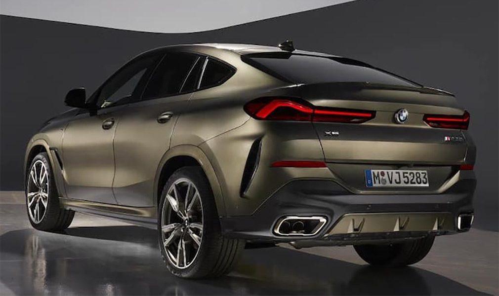 Внешность нового BMW X6 раскрыли на первых фотографиях