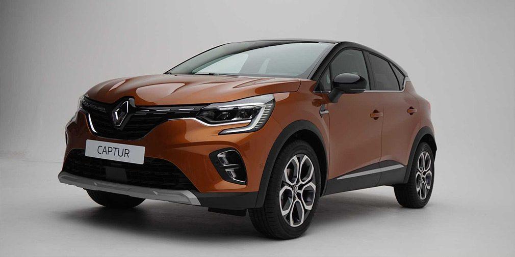 Renault представил новый кроссовер Captur