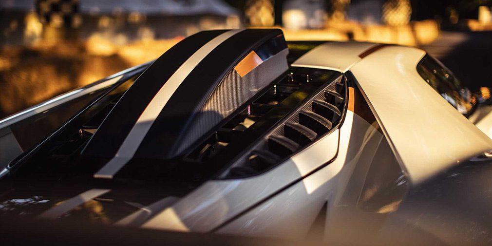 Компания Ford представила трековый суперкар GT MK II