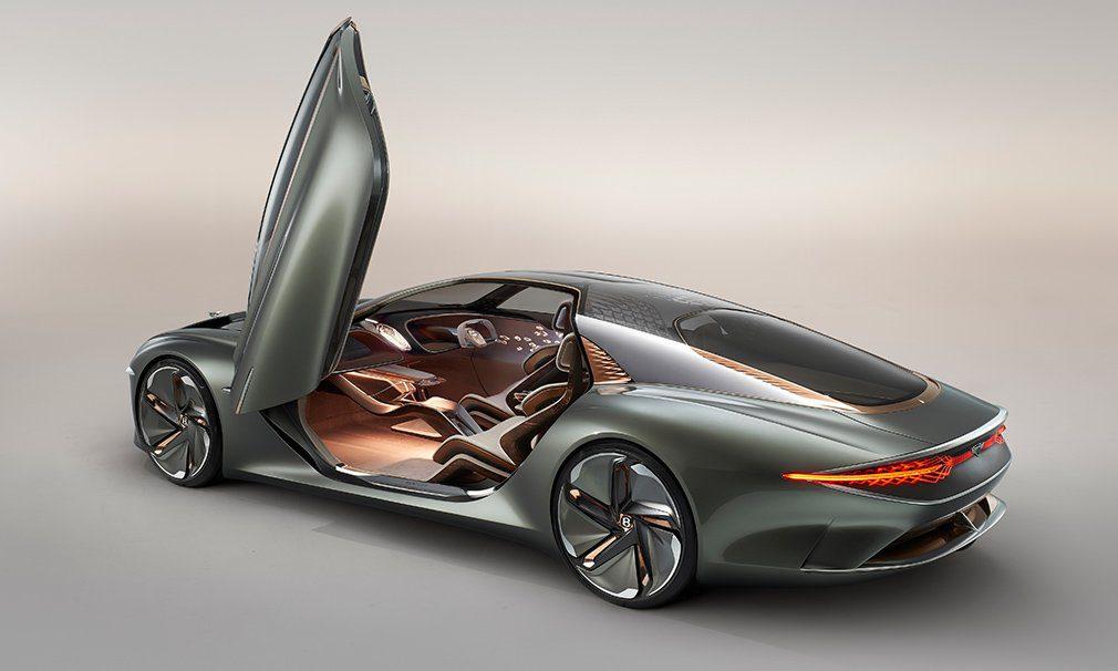 Bentley представил концепт Bentley EXP 100 GT