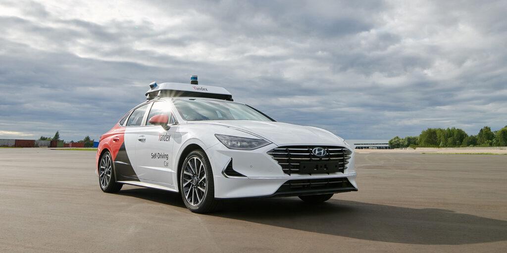 Яндекс представил беспилотник на базе Hyundai Sonata