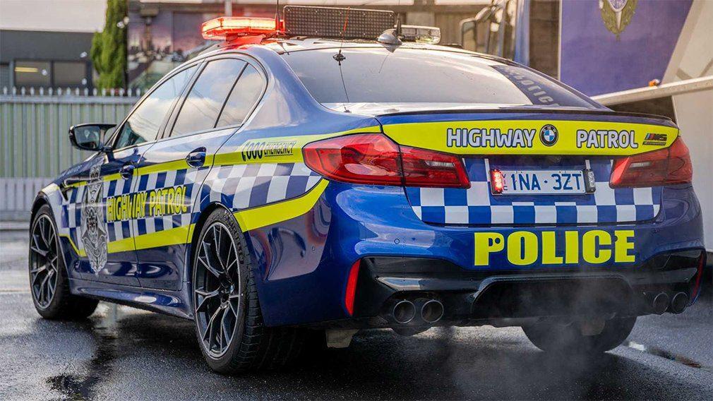 BMW M5 стал полицейским автомобилем в Австралии