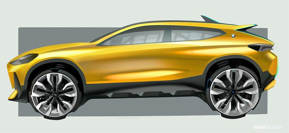 BMW разрабатывает новый компактный кроссовер