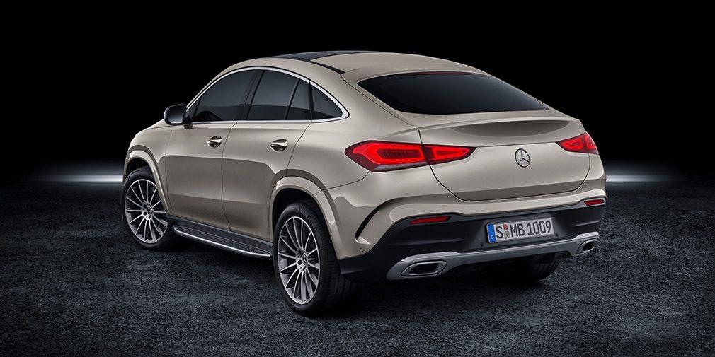 Новый кроссовер Mercedes-Benz GLE Coupe представлен официально
