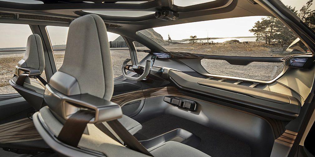 Во Франкфурте дебютировал электрический внедорожник Audi Al: Trail