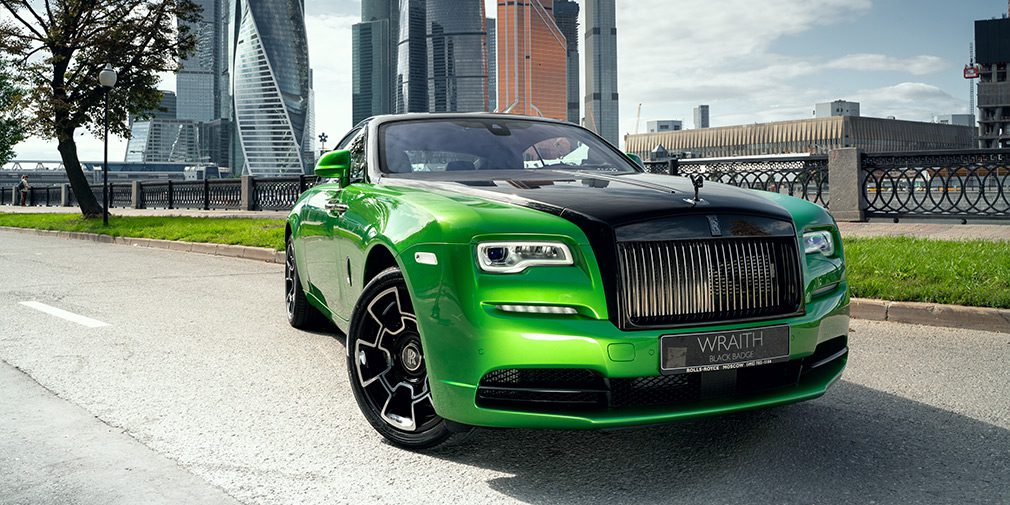 Rolls-Royce создал коллекцию купе Wraith в честь ночной Москвы