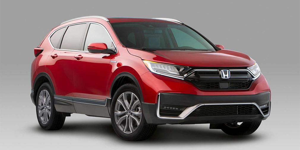 Объявили цены на обновлённый кроссовер Honda CR-V