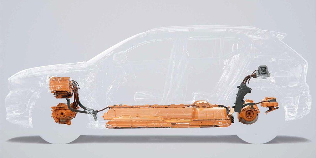 Первым электромобилем Volvo стал компактный кроссовер XC40