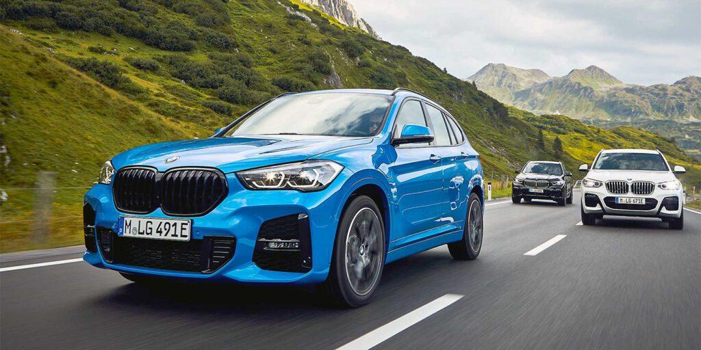 Кроссовер BMW X1 получил гибридную модификацию