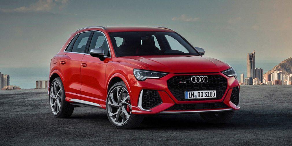 Audi презентовала «заряженные» Audi RS Q3 и RS Q3 Sportback