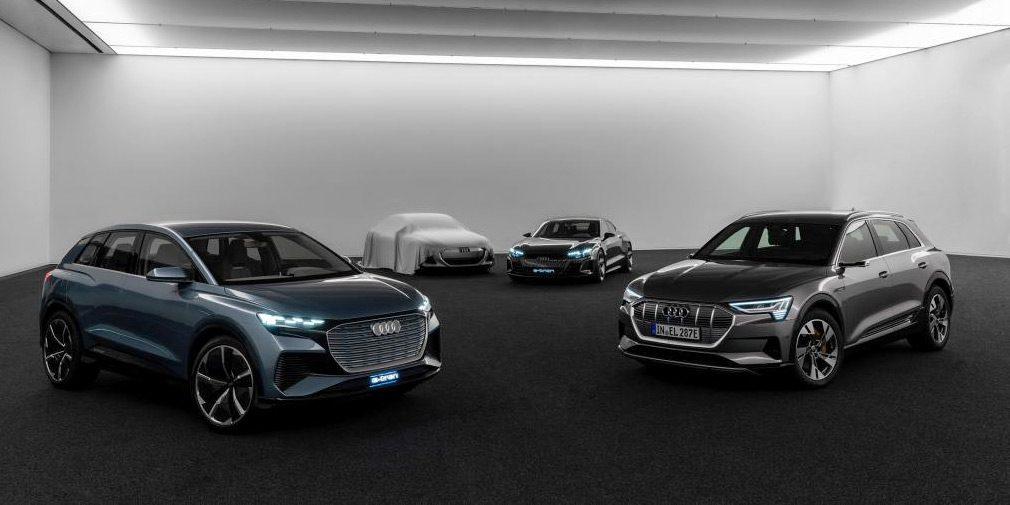 Audi анонсировала новое четырехдверное электрическое купе