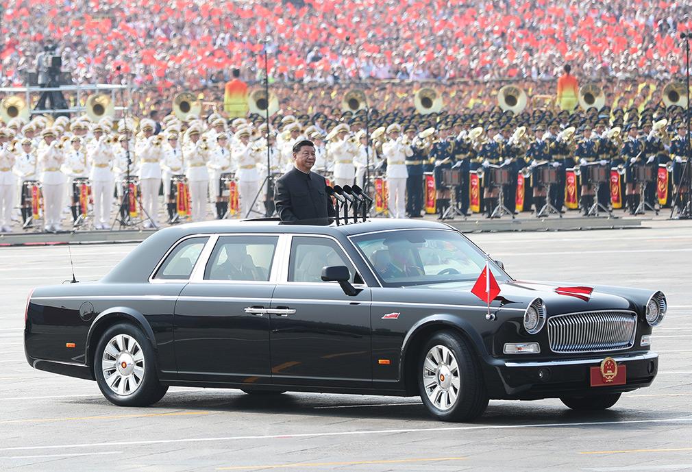FAW разработала 6,5-метровый лимузин для председателя КНР
