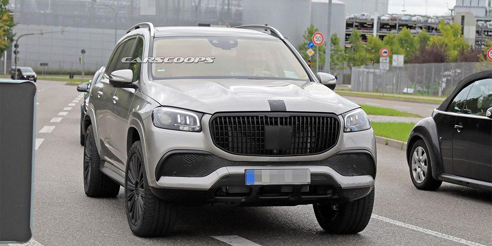 Внедорожник Mercedes-Maybach GLS замечен во время тестов