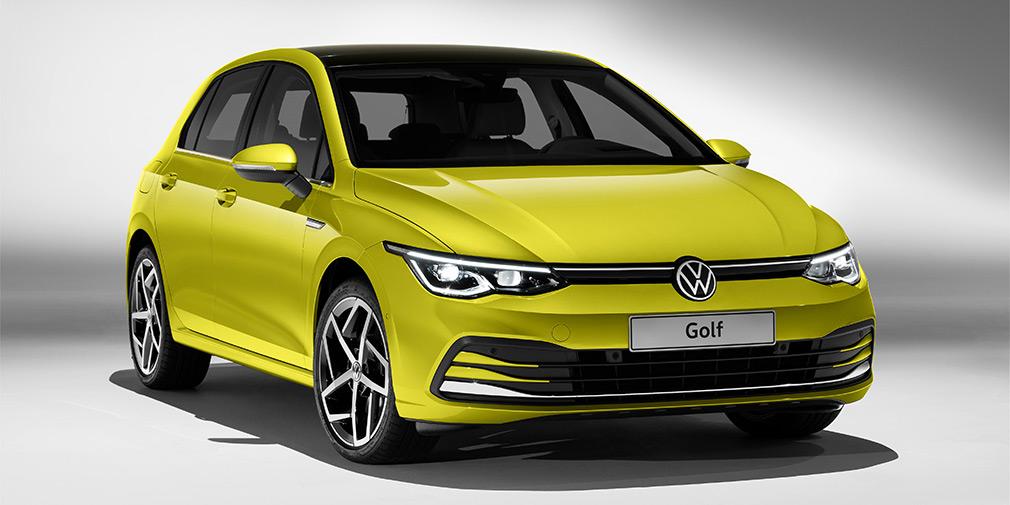 Volkswagen в Германии начала продажи нового хэтчбека Golf