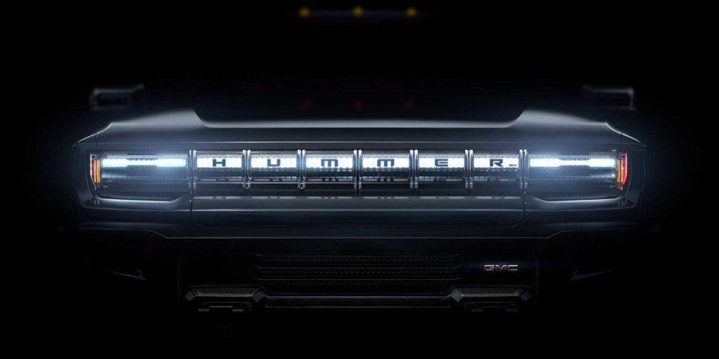 Пикап Hummer EV получит до трёх электродвигателей