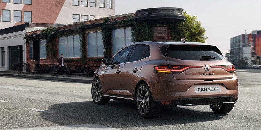 Представили обновлённый Renault Megane
