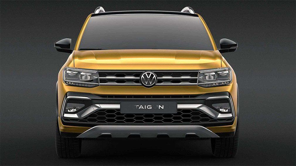 Volkswagen представил новый бюджетный кроссовер Taigun