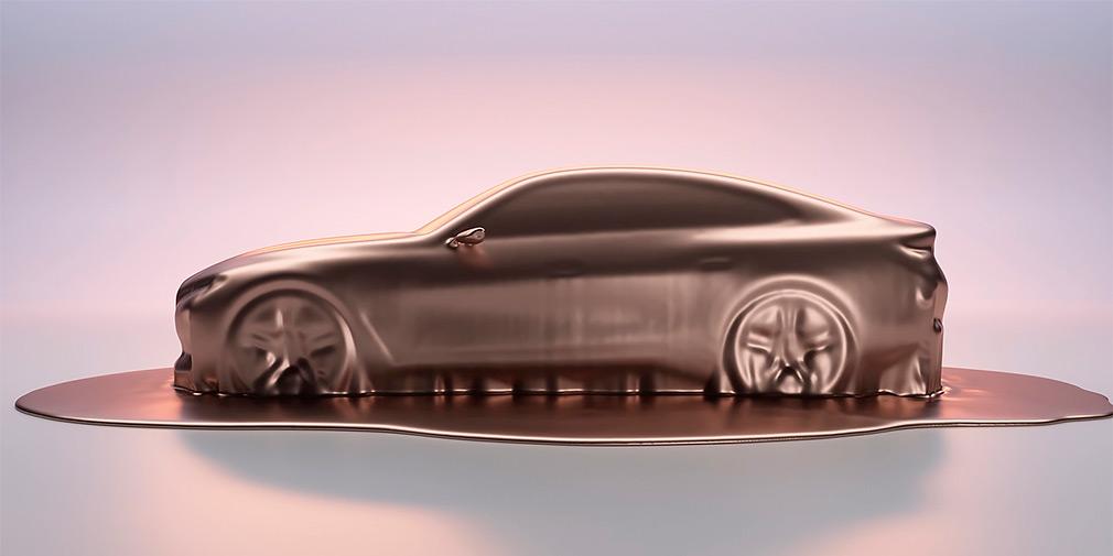 BMW анонсировала новый электрический седан BMW i4