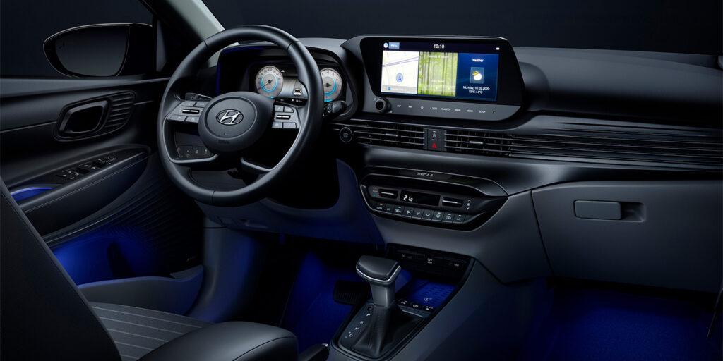 Показана первая фотография интерьера нового Hyundai i20