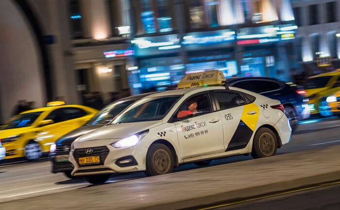Аренда автомобиля в Яндекс Такси