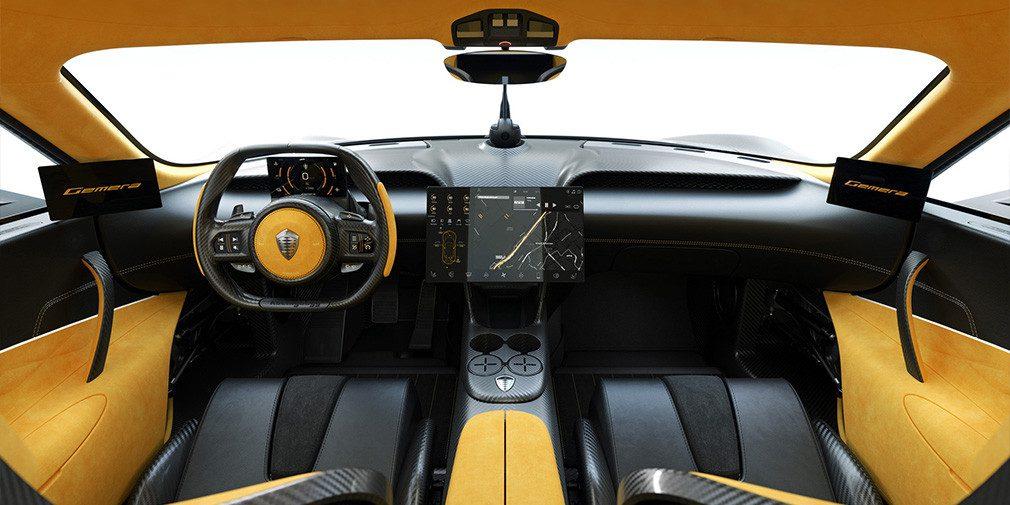 Koenigsegg представила свой новый гиперкар Gemera