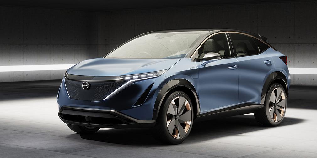 Nissan запатентовал в РФ название нового электрокроссовера