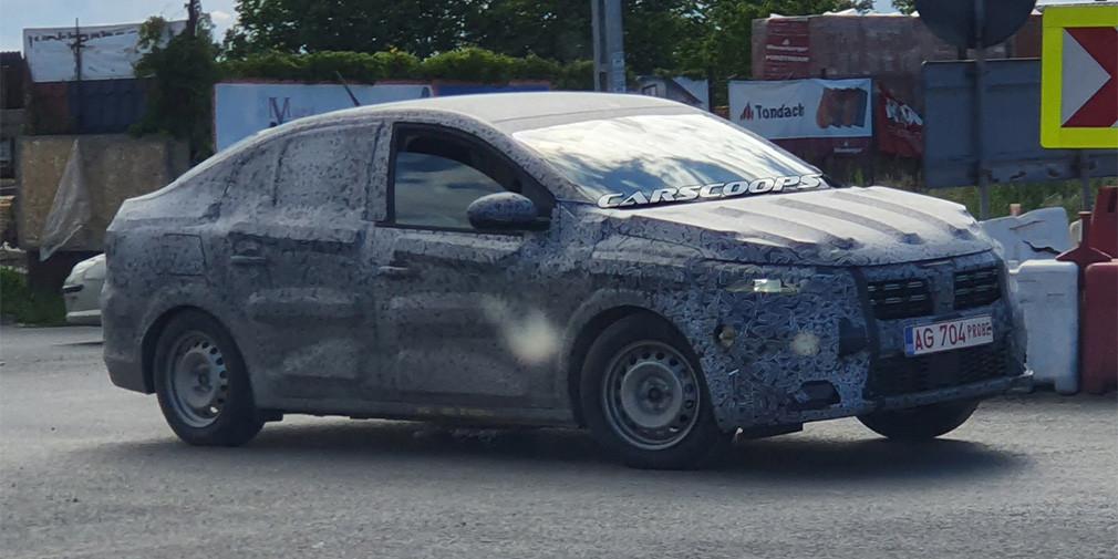 Новый Renault Logan снова заметили во время испытаний
